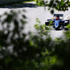 Felipe Nasr afronta la clasificación canadiense