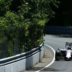 El FW37 de Valtteri Bottas partirá en segunda fila