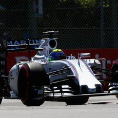 Felipe Massa perdió potencia antes de acabar la Q1