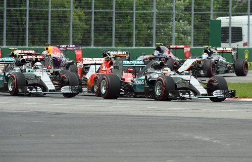 Los Mercedes mantienen las primeras palzas en Montreal