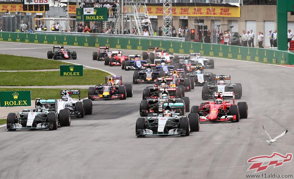 Primeras curvas del GP de Canadá 2015