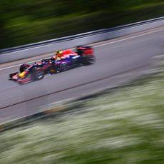 Daniil Kvyat clasificó por delante de Ricciardo