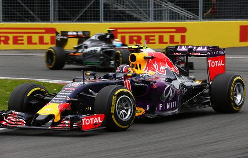 Daniil Kvyat termina por delante de Ricciardo en el GP de Canadá 2015