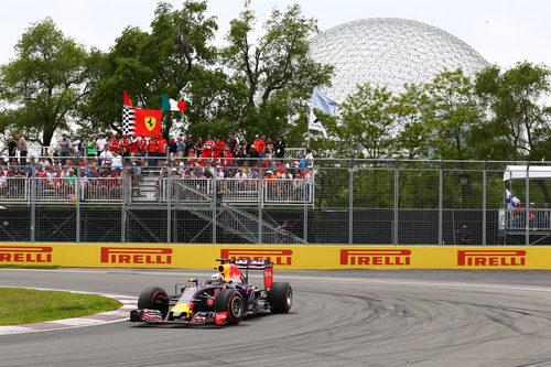 Daniel Ricciardo rueda con neumáticos superblandos