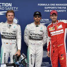 Nueva pole para Lewis Hamilton