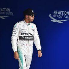 Lewis Hamilton, el 'poleman' en Austria