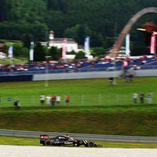 El Red Bull Ring parece adecuarse a los Lotus