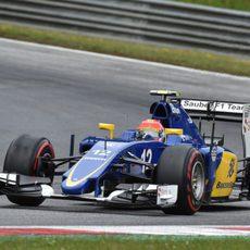 Felipe Nasr llega a la Q3 con los superblandos