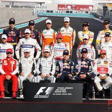 Los pilotos del Mundial