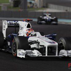 Kubica no logra puntuar