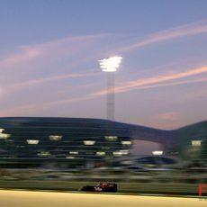 Alguersuari no acaba la carrera