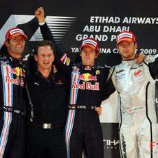 Los 3 primeros de Abu Dhabi