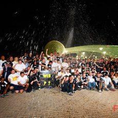 Foto de equipo de Red Bull
