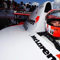 Jenson Button al volante