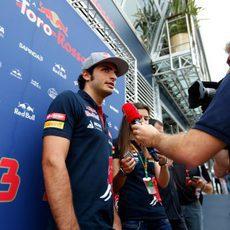 Preguntas para Carlos Sainz en Silverstone