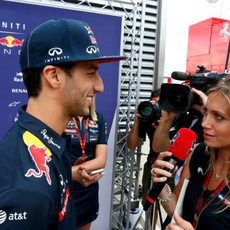 Daniel Ricciardo espera progresar en Gran Bretaña