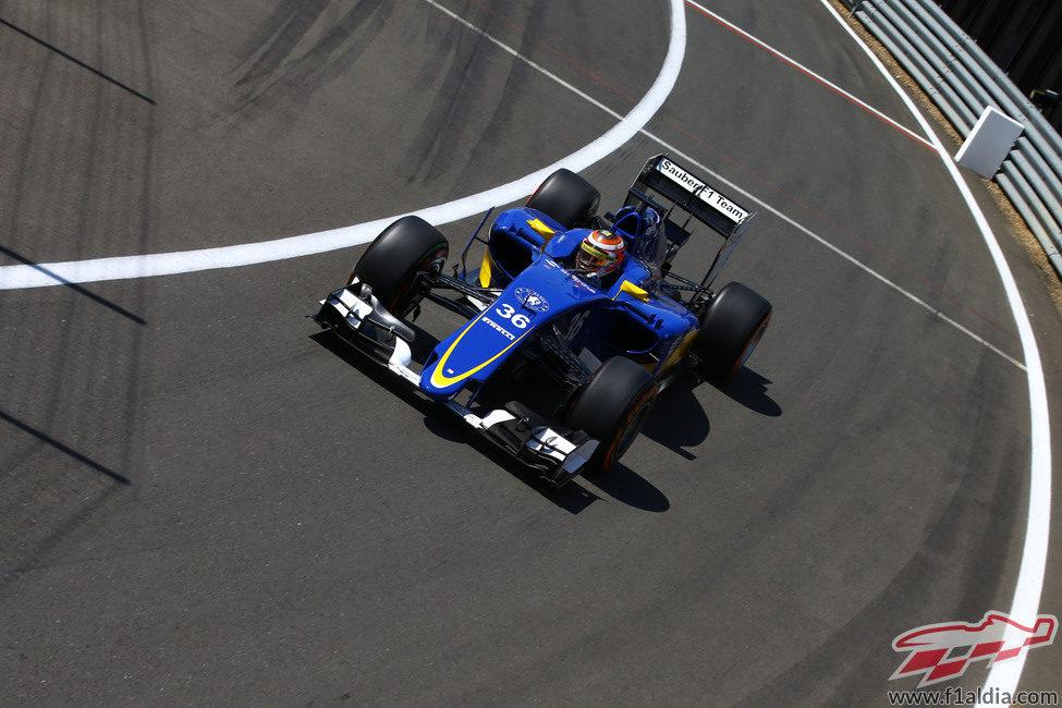Raffaele Marciello rodando en Silverstone