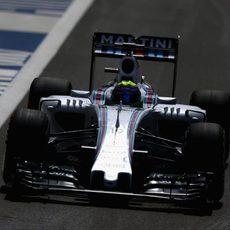 Felipe Massa termino 10º tanto en la FP1 como en la FP2