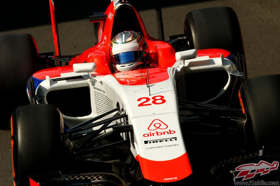 Will Stevens se impuso a Merhi en la FP1 y la FP2