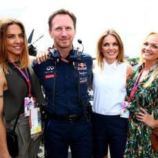Las Spice Girls con Christian Horner