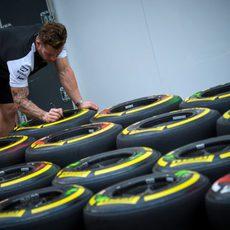 Neumático medio y blando para el GP de Hungría
