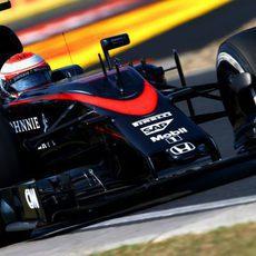 Jenson Button rozando los tiempos del top ten