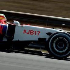 Roberto Merhi logra clasificarse en 19ª posición