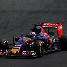 Max Verstappen exprime los neumáticos blandos
