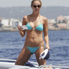 Carmen Jordá en bikini