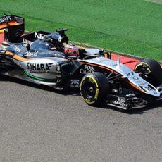 Nico Hülkenberg termina en sexta posición en la FP2 del GP de Bélgica 2015