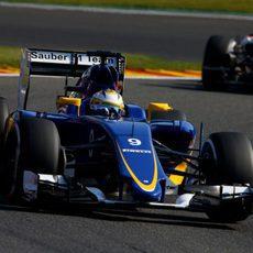 Ericsson no ha podido terminar los FP2 por un fuerte accidente