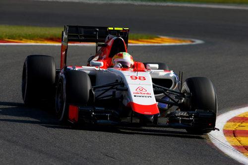Roberto Merhi rueda sin problemas en los L1