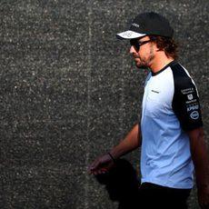 Fernando Alonso cae en la Q1 en Spa