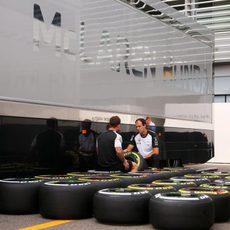Los Pirelli en Monza