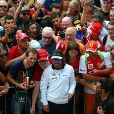 Cariño para Fernando Alonso