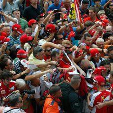 Todos a por Sebastian Vettel