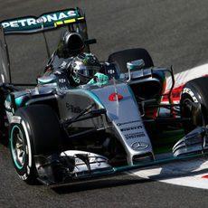Nico Rosberg, segundo en la jornada del viernes