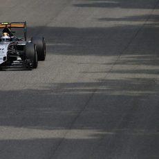 Sergio Pérez cree poder extraer más potencial de VJM08
