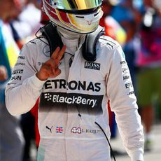 Lewis Hamilton será el hombre a batir en la salida