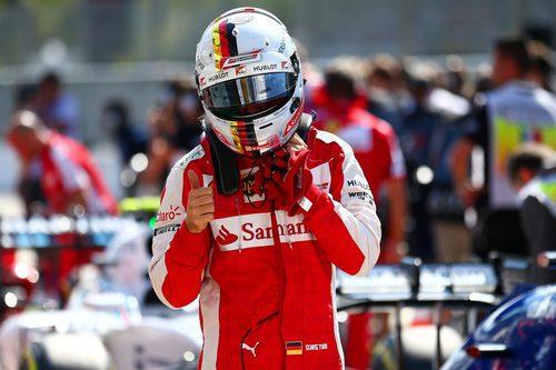 Sebastian Vettel firma la tercera plaza en Monza