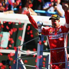Segundo puesto para Sebastian Vettel en Italia
