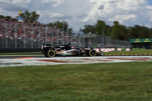 Nico Hülkenberg exprime su VJM08 en Monza