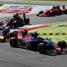 Carlos Sainz mantiene un buen ritmo de carrera