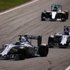 Los dos Williams mantienen a Nico Rosberg atrás