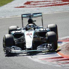 Lewis Hamilton no tiene rival en el GP de Italia 2015