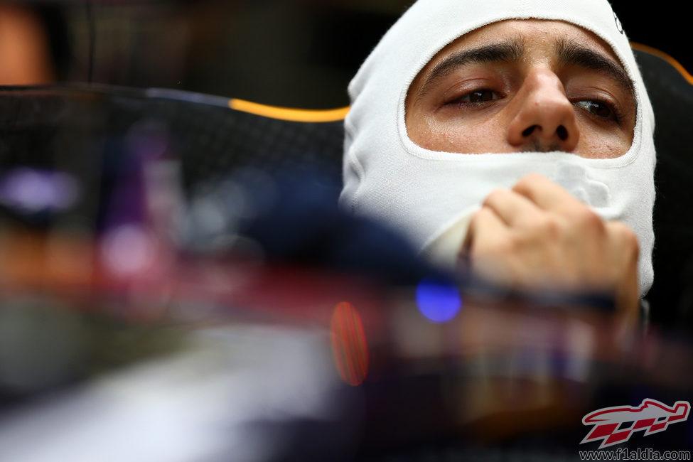 Buena jornada para Daniel Ricciardo