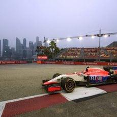 Alexander Rossi se estrena en la Fórmula 1