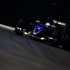 Marcus Ericsson en acción