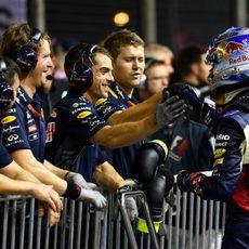 Red Bull felicita a Daniel Ricciardo