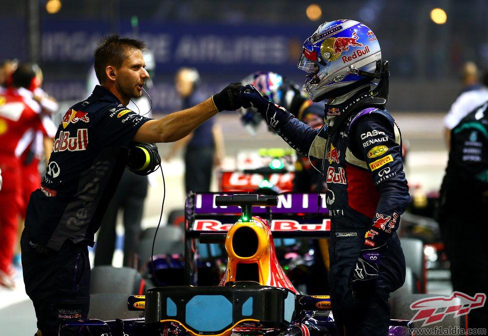 Daniel Ricciardo logra la mejor posición del año